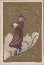 Victorian Trade Card-G M Thomas & Co-Warsaw, IN-Steel & Price-Chicago-St Louis