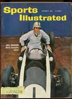SI: Sports Illustrated October 31, 1960 Jack Brabham World Champion Driver G
