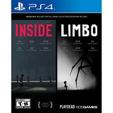 Inside/Limbo: Double Pack PS4 [Brand New]