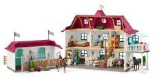 SCHLEICH 42416 Horse Club Großer Pferdehof mit Wohnhaus und Stall