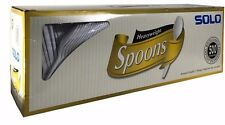 Solo Heavyweight Spoons Banquet Quality Plastic Foodservice Cutlery 500 Pieces