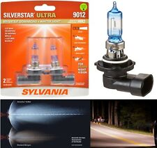 Sylvania Silverstar Ultra 9012 HIR2 55W Two Bulbs Head Light Dual Beam Replace