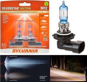 Sylvania Silverstar Ultra 9012 HIR2 55W Two Bulbs Head Light Dual Beam Replace
