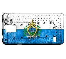 Coque Samsung Galaxy S5 Mini Drapeau SAINT-MARIN 06