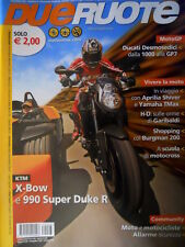 Dueruote 27 2007 Ducati Desmosedici dalla 1000 alla GP7. Aprilia Shiver [Q69]