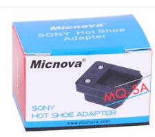 cold shoe converter designed for Sony SLR Alfa camera attach MIC Light Flash ++