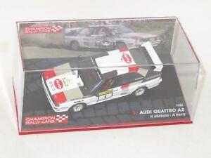 1/43 Audi Quattro A2  1000 Lakes Rally Finland 1983  H.Mikkola