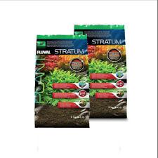 4KG (2x2kg)Fluval Plant and Shrimp Stratum Substrate Base for Aquariums