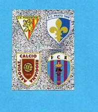 PANINI CALCIATORI 2006-2007- Figurina n.Q1/4-POGGIBONSI+PRATO+REGG.-SCUDETTO-NEW