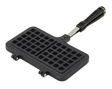 Kitchencraft Non Stick Stove Top Waffle Maker Iron Press