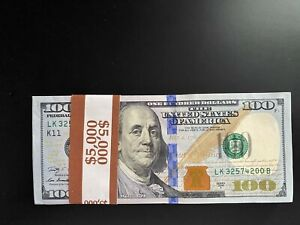 2009 A $100 DOLLAR BILLS CONSECUTIVE Numbers HIGH GRADE