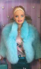 1999 Blue Fashion Wardrobe Barbie doll NRFB mix 'n match fashion styles