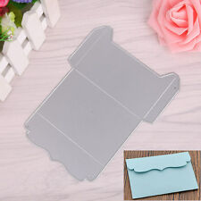 Metal Envelope Cutting Dies Stencil Scrapbooking Album Embossing Card DIY Craft