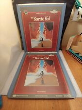 The Karate Kid Two Disk Set ~CED Movie Disc RCA SelectaVision Video Disc