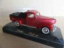 993G Solido Dodge Custom Pick-Up Charbonnier 1:43
