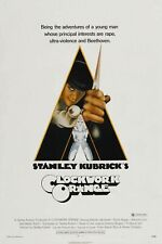 "A Clockwork Orange Movie Silk Fabric Poster Stanley Kubrick 27""x40"""