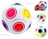 Fidget Stress Reliever Magic Rainbow Ball Fun Cube Fidget Puzzle Education Toy