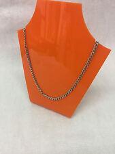 Orange 363 Perspex Acrylique formé collier Bijoux support d'affichage... NEUF