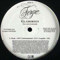 """FERGIE / LUDACRIS """"GLAMOROUS"""" 2007 VINYL 12"""" PROMO SINGLE 6 MIXES HTF *SEALED*"""