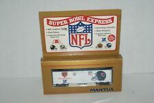 Mantua Ho Scale Chicago Bears Super Bowl Express Freight Car