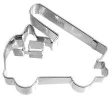 RBV Birkmann Fire Engine-Shaped Cookie Cutter 8.5 cm Stainless Steel