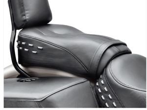 HARLEY DAVIDSON Sundowner Passenger Pillion Seat - Heritage Softail Styling -L6