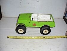 Old Vintage Metal 1960's Tonka Jeep Stump Jumper Green  49250