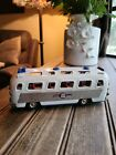 Vintage+Rare+Express+Friction+Pressed+Steel+Tin+Toy+Motor+Coach+Bus+Japan