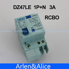 DZ47LE 1P+N 3A 230V~ 50HZ/60HZ Residual current Circuit breaker  RCBO