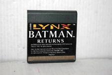 BATMAN RETURNS ATARI LYNX GIOCO USATO PER ATARI LYNX EDIZIONE EUROPEA FR1 56714