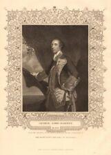 BRITISH HISTORY. George Lord Rodney. Battle of the Saintes. TALLIS 1849 print