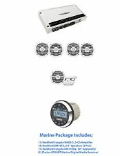 Rockford Fosgate M600-5, (4) RM1652, (1) RM110D2  & Marine Digital Media Rcvr
