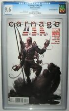 Carnage USA U.S.A. #3 Double Interior Manufacturing Error 2012  CGC 9.6 First