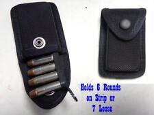 RJZ G&G Firm Nylon Gun Ammo Cartridge Case Pouch 38/357 Hold 6 On Strip 7 Loose
