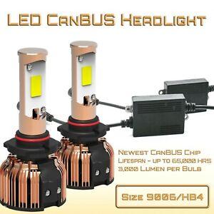 9006 (HB4) CanBUS LED Bulbs - LED Head Light Conversion Kit