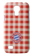Back Cover Samsung Galaxy S4 Mini [FC Bayern - Karo] Handyhülle. Handytasche FCB