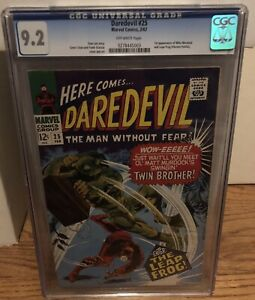Daredevil 25 CGC 9.2 OW Pages