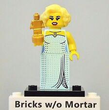New Genuine LEGO Hollywood Starlet Minifig with Statue Award Series 9 71000