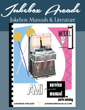 NEW AMI  Model I JCI-100, JBI-120, JAI-200 Jukebox Service Manual, Parts Catalog