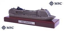 MODELLINO MODEL SHIP NAVE DA CROCIERA MSC POESIA - MSC CROCIERE - 2008