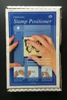 Stamp Positioner by Stamper's Choice Craft Guide Tool for Precise Stamping