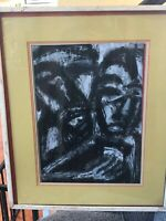 DANIEL BUCKLER OiL Macbeth act 2 scene 2 American ABSTRACT PAINTING NEW HOPE PA