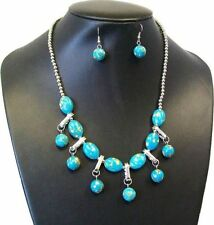 Crystal Mixed Themes Round Costume Necklaces & Pendants