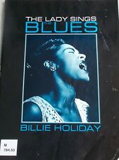 Billie Holiday Lady Sings Blues Songs Voice Piano Guitar Unmarked