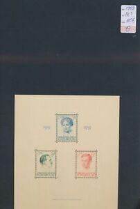 XC77631 Luxembourg 1939 royal family XXL sheet MNH cv 120 EUR