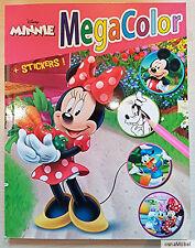 Disney Minnie Mouse Mega Color Malbuch - 100 Malvorlagen + 25 Sticker - NEU (1)