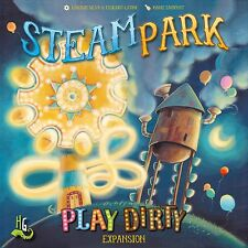 Steam Park Play Dirty Robot Family Board Game Iello Games IEL 76007 Theme Park
