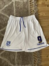 Tranmere Rovers Match Worn Shorts 2014/15 Kayode Odejayi - Large - Player Issue