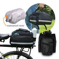 Vergößerbare Packtasche für den Gepäckträger Fahrrad Tasche Bag Zubehör Fahrrad