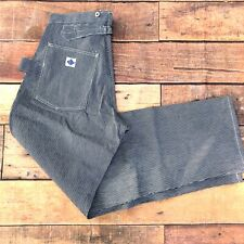 Post O'alls Engineering Pants Carpenter Jeans DENIM Size XL MADE IN USA OVERALLS
